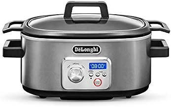 De'Longhi Livenza Programmable Slow Cooker with Stovetop-Safe Pot