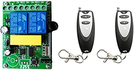 Davitu Remote Controls - AC 220 Wi Popular brand San Diego Mall in the world Radio Controller 2CH V RF