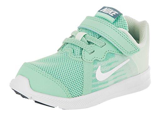 Nike Downshifter 8, Running Shoe Baby-Girls, Emerald Rise/Blanco/Igloo/Noise Aqua, 27 EU