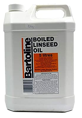 Bartoline Boiled Linseed Oil. 5 Litres