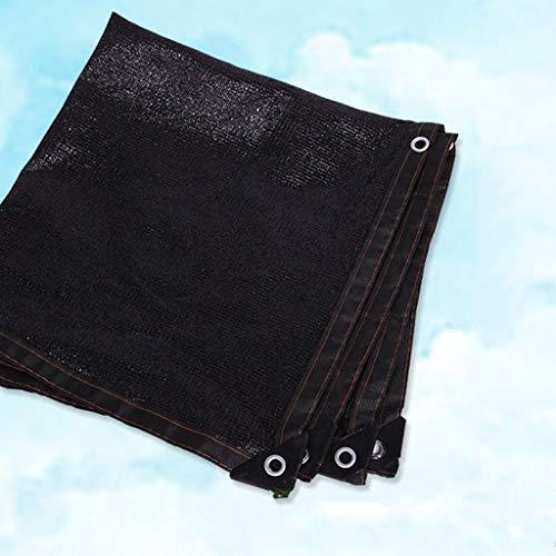 Resistente A Los Rayos UV Malla de Sombreo Negra Rectángulo Tasa de Sombreado 80% For La Cubierta de La Piscina del Jardín Parasol Red de sombreado (Size : 2x5m)