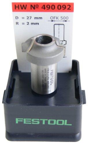 Festool 490092 HW Abrundfräser HW R2 - OFK
