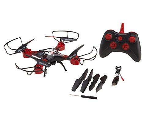 Revell 23876 Long Flight RC Quadrocopter mit HD-Kamera, Lange Flugzeit, ferngesteuert mit 2.4 GHz Fernsteuerung, leicht zu fliegen durch Höhensensor mit Headless-Mode, wechselbarer Akku, bunt