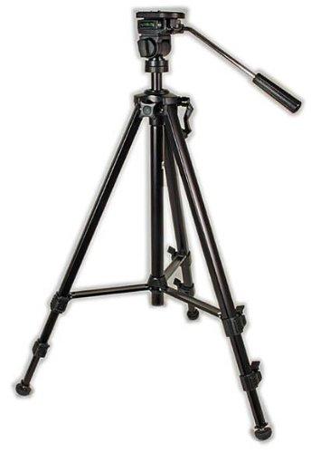 Triton F103 Aluminium Fotostativ mit Neigekopf, bis 3kg belastbar