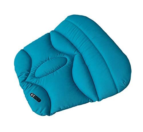 Sitback Basic Keilkissen Stuhlkissen Autositzkissen Universal, südsee blau