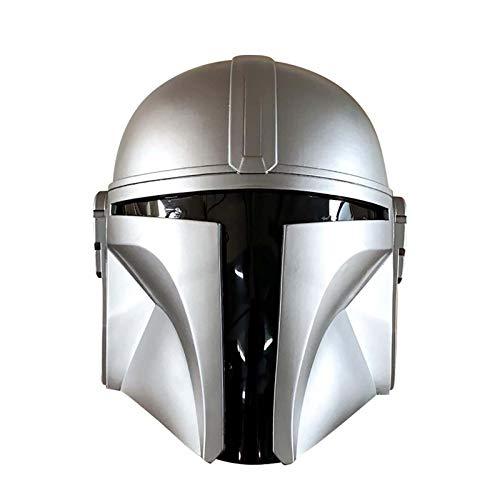 2021 Neue PVC Mandalorianer Helm, Star Wars Mandalorianer Gesicht Maske, Star Wars...