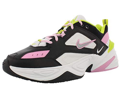 Nike Women's M2K Tekno Black/Metallic Silver/Pink Rose CI5772-001 (Size: 9.5)