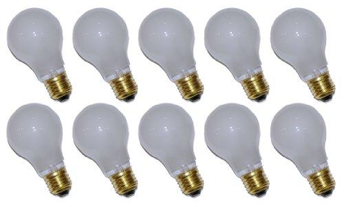 10 x Glühbirne Glühlampe AGL 15W E27 MATT stoßfest