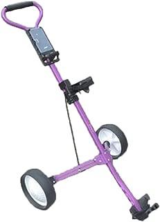 Golf Trolley Push Pull Cart Foot Ultra Compac Lightweight Cruiser Button Easy Fold Push Pull