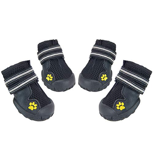 HiPaw Summer Breathable Mesh Dog Boots