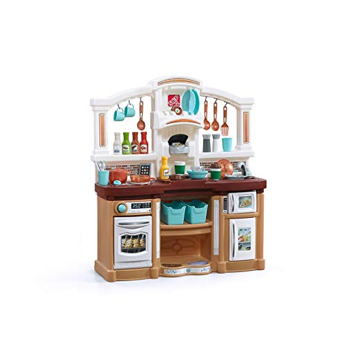 Step2 Fun with Friends Kitchen | Large Plastic Play Kitchen with Realistic...