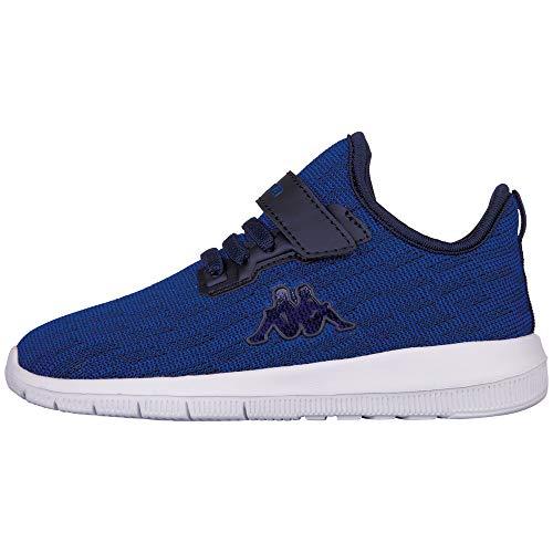 Kappa Gizeh Sneaker, Blau (6067 Blue/Navy), 34 EU