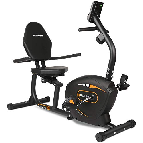 Recumbent Exercise Bike for Adults Seniors - Indoor Magnetic Cycling Bike for Home Workout