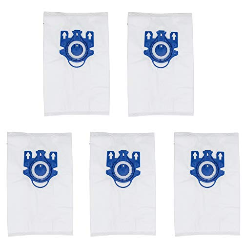 5pcs Dust Bags Vacuum Cleaner Bag For Miele 3D GN COMPLETE C2/C3 S2/S5/S8 Smthome