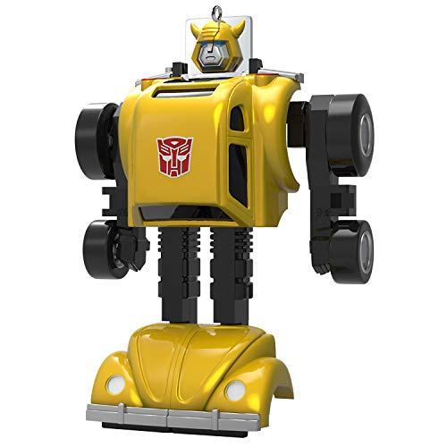 Price comparison product image Hallmark Keepsake Christmas Ornament 2019 Year Dated Transformers Bumblebee
