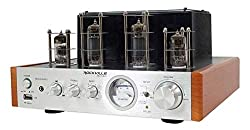 in budget affordable Rockville BluTube WD70w Tube Amp Bluetooth / Home Stereo Receiver 2 Tone