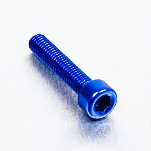 Lot de 4 vis en aluminium Torx M5 x 14 mm pour porte-bouteille couleur bleu clair avec logo blanc C8655316//CK Bianchi