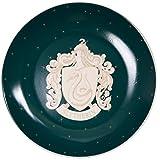 Harry Potter Slytherin Salad Dessert Plates, Set of 4 - Porcelain - 7.5'