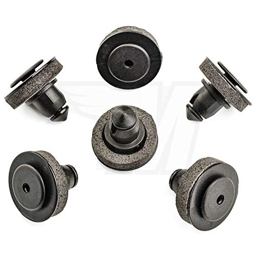 20 clips de fijación para puerta corredera con junta 7H0843658A