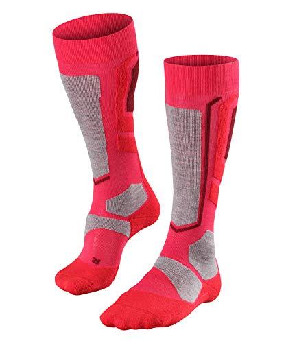 FALKE Damen Snowboard Socken SB2, Wollmischung, 1 Paar, Rosa (Rose 8680), Größe: 41-42