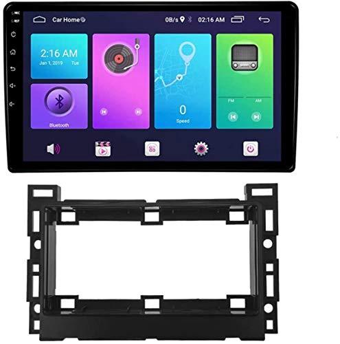 Android Car Stereo Sat Nav para Pontiac Torrent 2006 Unidad Principal Sistema de navegación GPS SWC 4G WiFi BT USB Enlace de Espejo Carplay Integrado