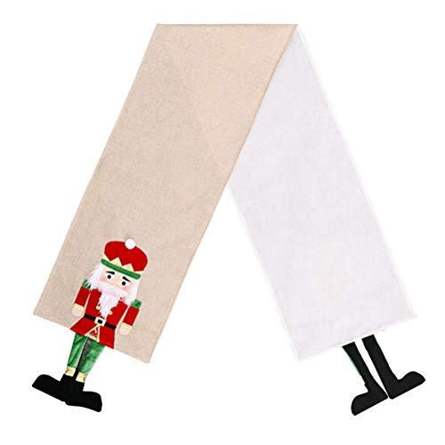 Świąteczny Obrus Kreatywny Orzechowy Żołnierz Bieżnik Blat Ozdoba Dekoracja Świąteczna