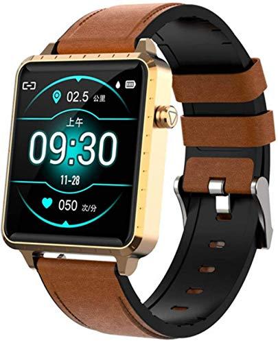 Reloj inteligente 1.54 pulgadas IPS Full Fit IP68 impermeable reloj inteligente para hombre y mujeres-C