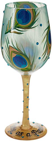 Copa de Vino de Lolita «Pretty as a Peacock» (Preciosa como un Pavo Real)