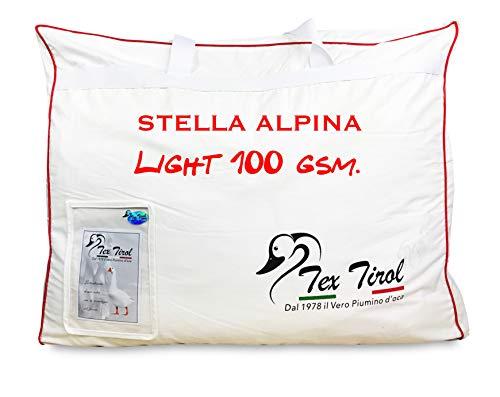 Piumino Tex Tirol © Stella Alpina Light 100% Piumino Oca Leggero Estivo (Matrimoniale 2 PIAZZE cm. 250X200)