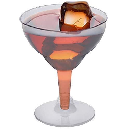 Efavormart 60 Pcs - Clear 5.5oz Voguish Margarita Glass