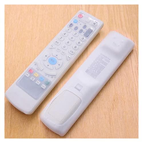 QWXX Película de Control Remoto Silicon Gel Anti-Polvo Cubierta Protectora Piel para TV Control Remoto TV Control Remoto Cubierta Piel de Silicona Protector a Prueba de Polvo (Color : F)