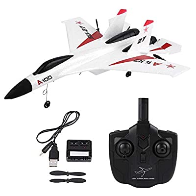 RC Glider Plane Toy, 6-axle Gyroscope 3 Channels EPP Fixed-wing Plane Airplane Mini Remote Control Glider the Gift for Children Kids Beginners