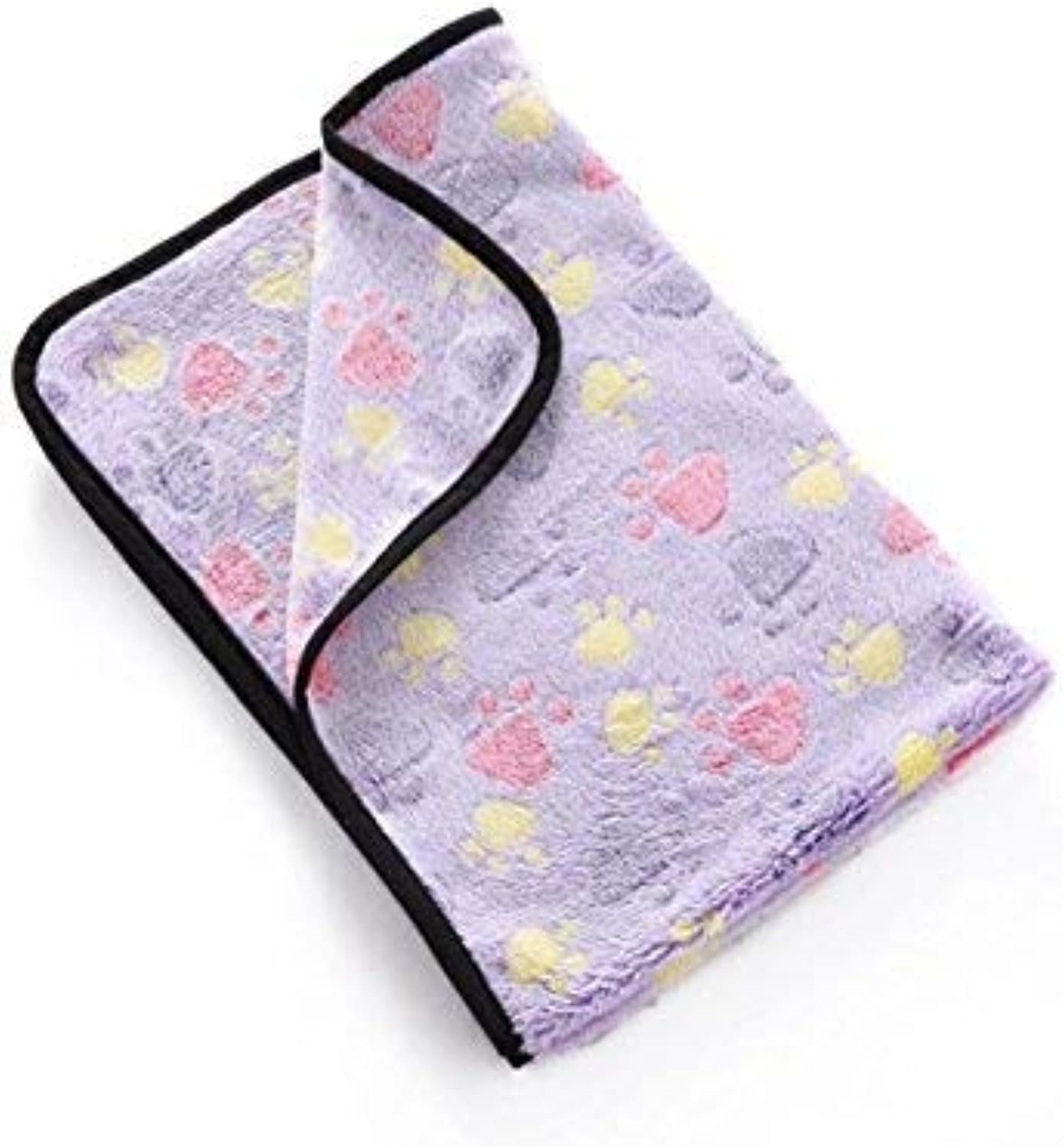 CFHJN HOME Dog Soft Blanket Made of Polyester Hand Wash Travel Sleeping Supplies Pet Bed Blanket