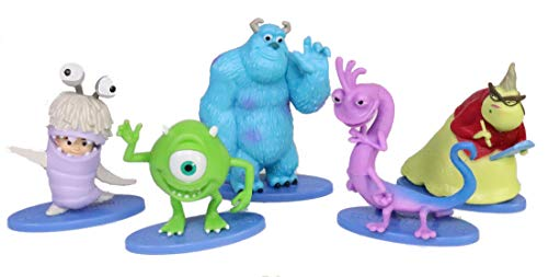 Monsters Cake Topper Set of 5 - Party Supplies, Children's Birthday Cake Decoration