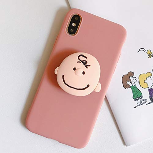 Waterproof Phone Case Phone Case 3D Cute Cartoon Soft Phone Case Compatible with Iphone 12 X XR XS 11 Pro Max 6S 7 8 Plus Holder Cover Compatible with Samsung S8 S9 S10 S20 A50 A51 A71 Scratch Resista