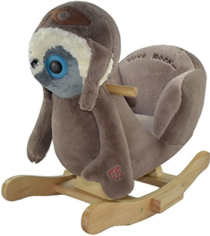marca famosa 'Animal à bascule bascule bascule cheval à bascule raton laveur  Albert The Rocking Racoon súpersüss, modèle de grande qualité avec fonction Lullaby chanson  descuento online