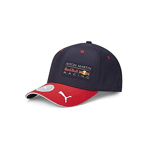 PUMA AMRBR Replica Team Snapback Cap Night Sky-Chinese Red Adult