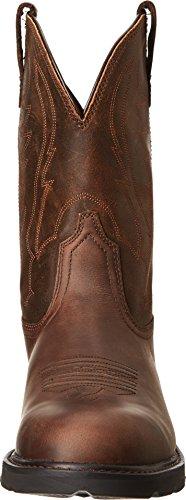 ARIAT - Chaussures de Travail Western Groundbreaker pour Hommes, 42.5 M EU, Brown