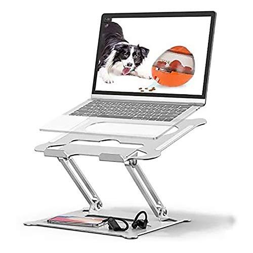 Soporte para computadora portátil,Soporte ajustable ángulos para computadora portátil con ventilación de calor para computadora portátil Compatible Todas las computadoras portátiles de 11—17 pulgadas