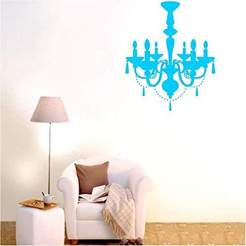 Wandaufkleber Kronleuchter Wandtattoos Vinyl Art Home Aufkleber Raumdekor Abnehmbare Wand Wandaufkleber 60X70cm