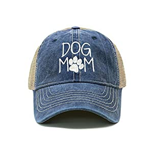 ChoKoLids Dog Mom Dad Hat Cotton Baseball Cap Polo Style Low Profile