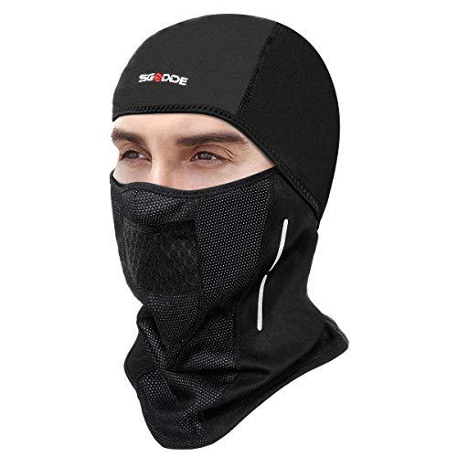 SGODDE Balaclava Ski Mask- Windp...