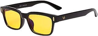 ZEVONDA Blue Light Filter Reading Glasses - Men/Women Goggles Anti-Blue Protection Night Vision Glasses For Game and Computer or TV Moniter Screen Glare Eyewear