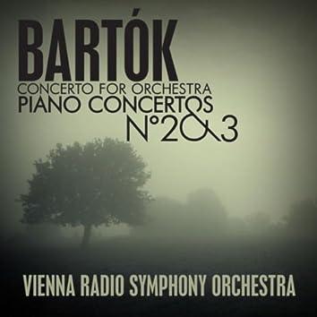 Bartók: Concerto For Orchestra - Piano Concertos No. 2 & 3