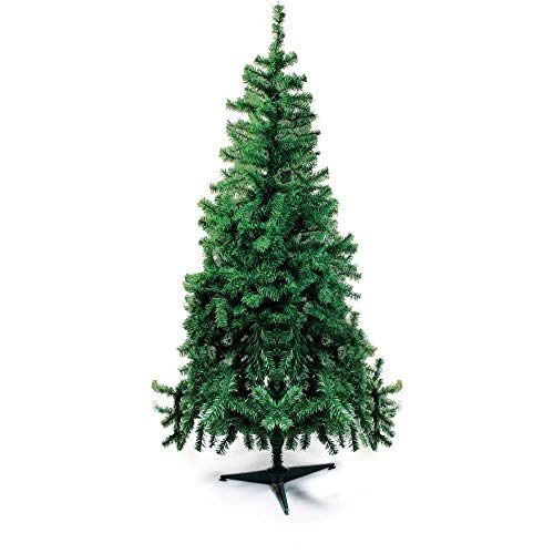 Árvore de Natal com Base Plástica, Portobelo, Verde, 350 Hastes, 1.50m, Cromus