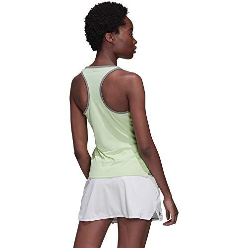 adidas Club Tank Camiseta De Tirantes, Mujer, verbri, S