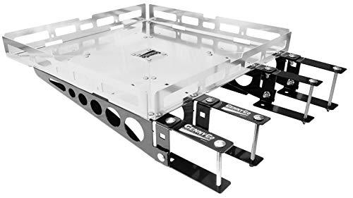 Mount-n-Lock GennyGo RV 4-Inch Bumper-Mounted Generator and Cargo Carrier Tray Kit (TM) (24' x 24', Hybrid-Heavy Duty)