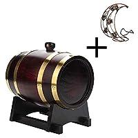 ヴィンテージカラー5Lオーク樽熟成樽ワイン樽ワインディスペンサー焼酎貯蔵樽バースタイルの装飾に適しています