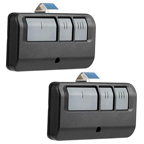2 Garage Door Remote for Sears/Craftsman/Liftmaster Opener (Red Learn)