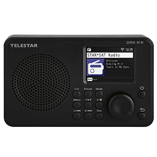 Telestar DIRA M 6i Hybrid Radio (Internet Radio, USB Music Player, Compact Multifunction Radio, DAB+ FM RDS, WiFi, Bluetooth)